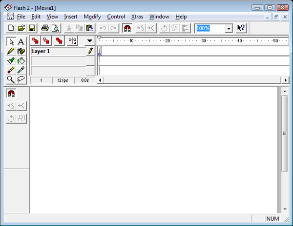 Flash 2 Interface Screenshot