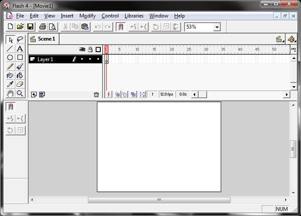 Flash 4 Interface Screenshot