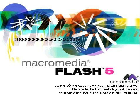 Flash 5 Splash Intro Screen