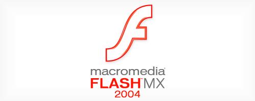 Flash MX 2004 Splash Intro Screen