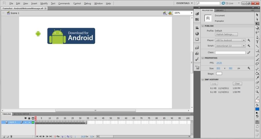Flash Creative Suite 5.5
