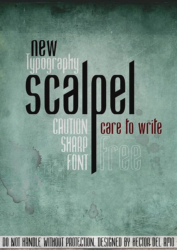 Scalpel Font