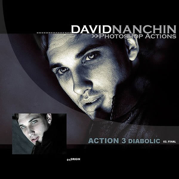Photoshop Action: Diabolic