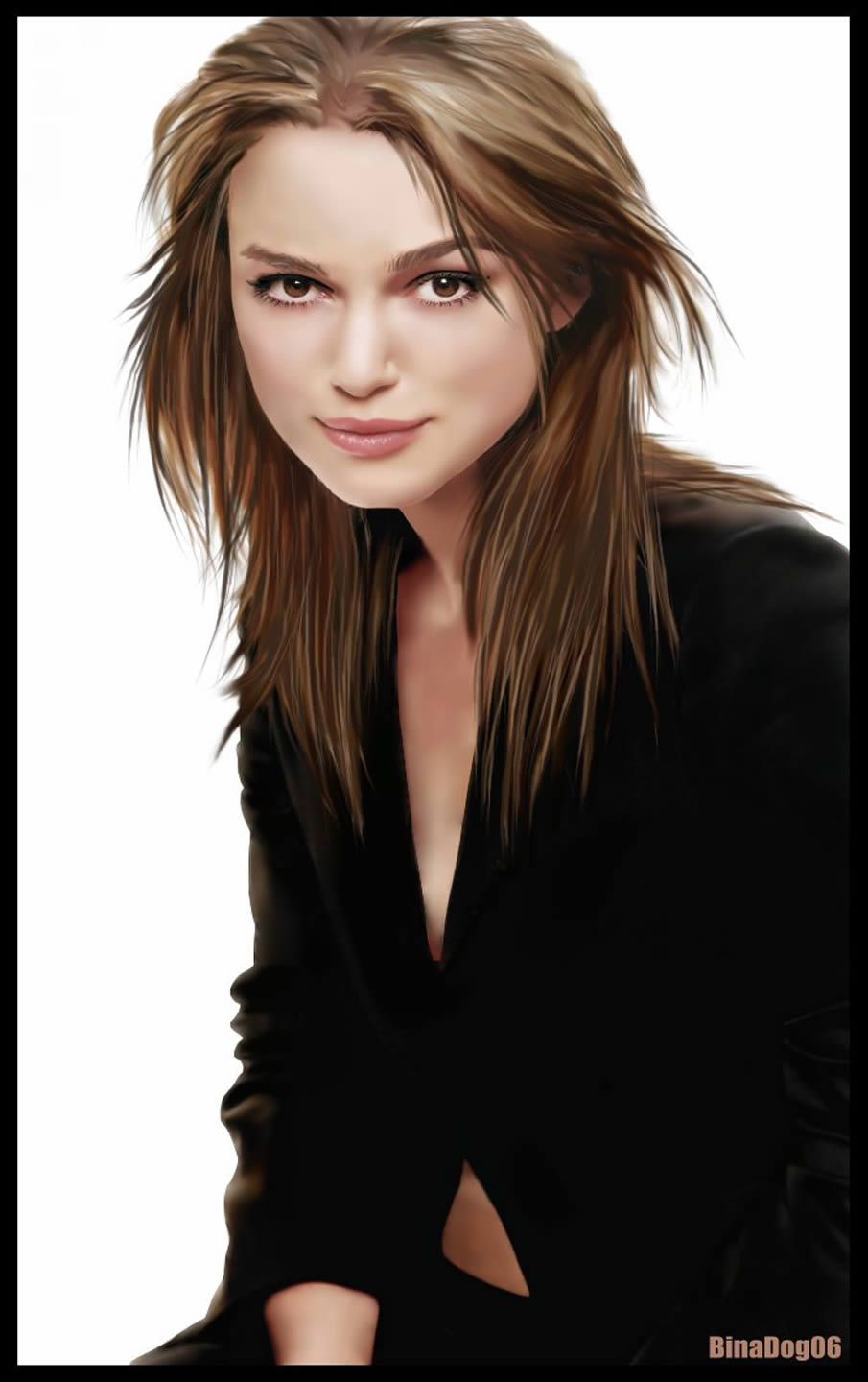 Keira Knightley Digital Painting
