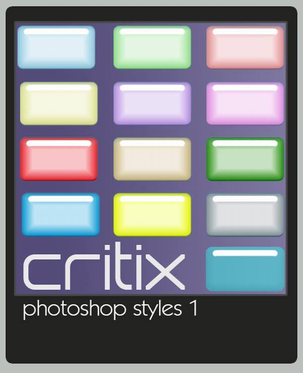 Critix Photoshop Styles 1