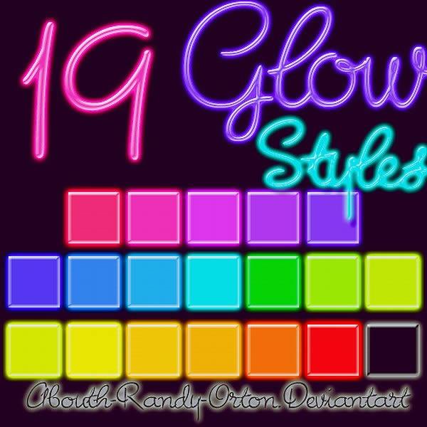 19 Glow Styles