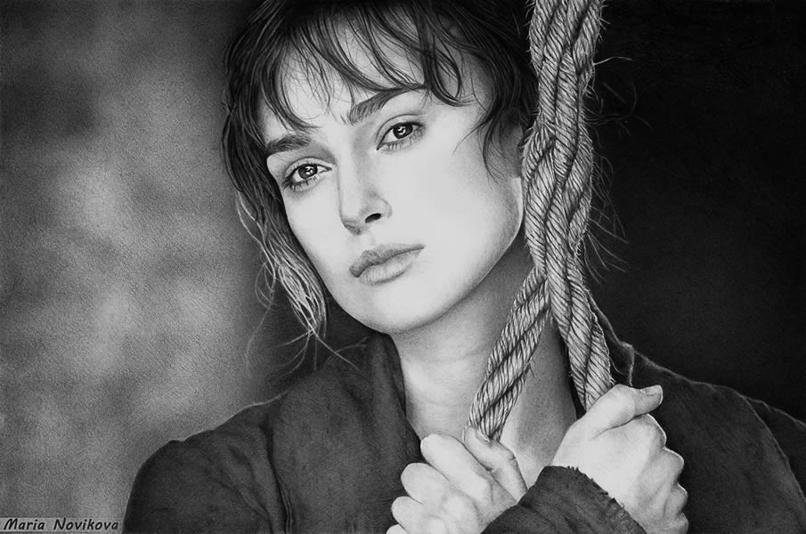 Keira Knightley Drawing