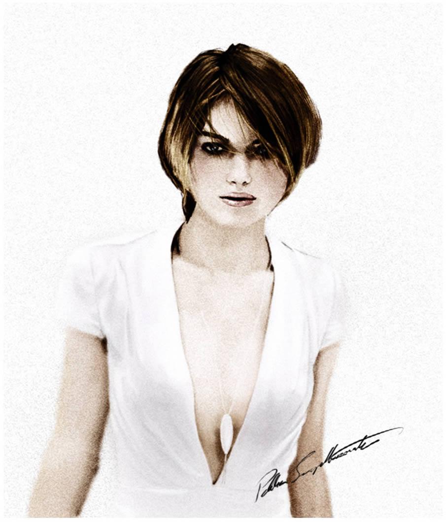 Keira Knightley Portrait