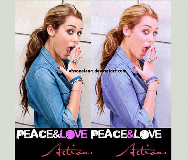Peace and Love Action