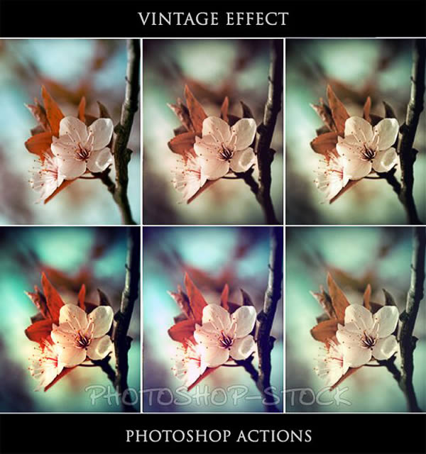 Vintage Effect Ps Actions