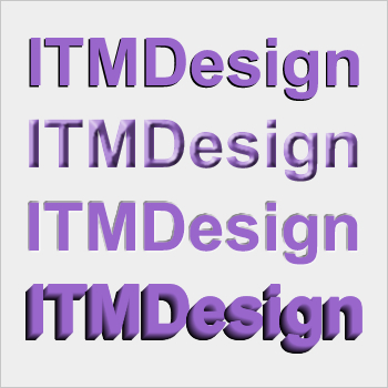 Create 3D Text in adobe Fireworks