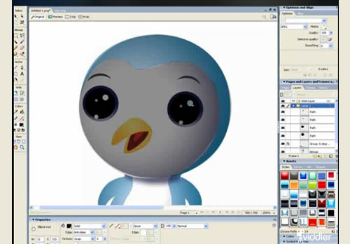 Create a vector in Adobe Fireworks