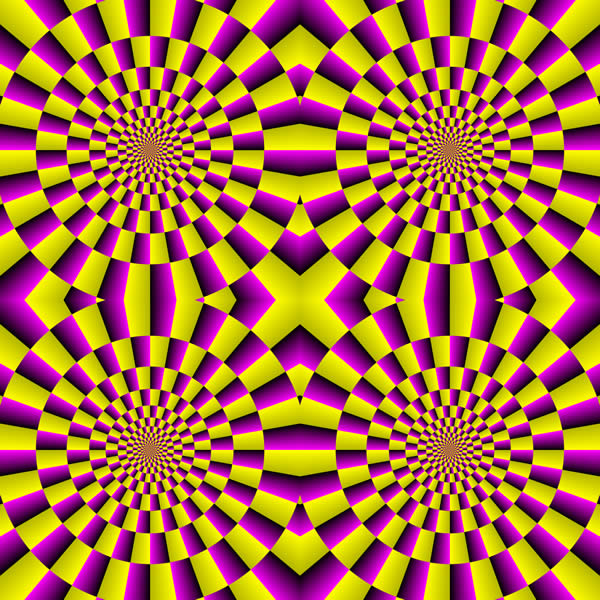 Geometrical Illusion with Stereoscopic Impressions