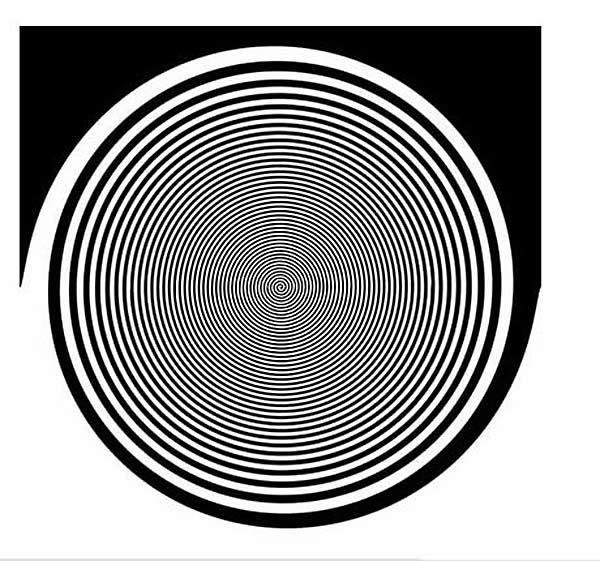 Optical Illusion - Round and Round