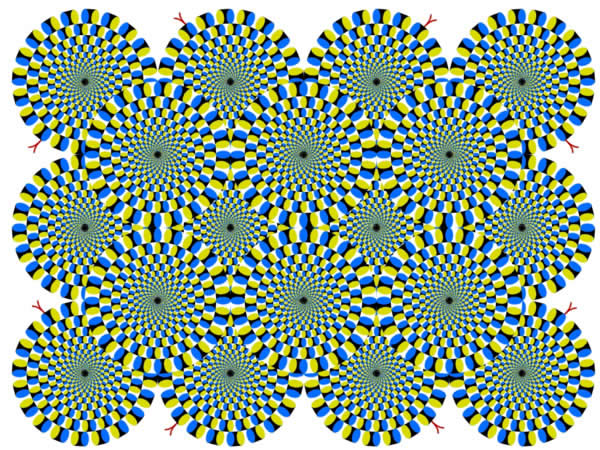 Wheels - Optical Illusion