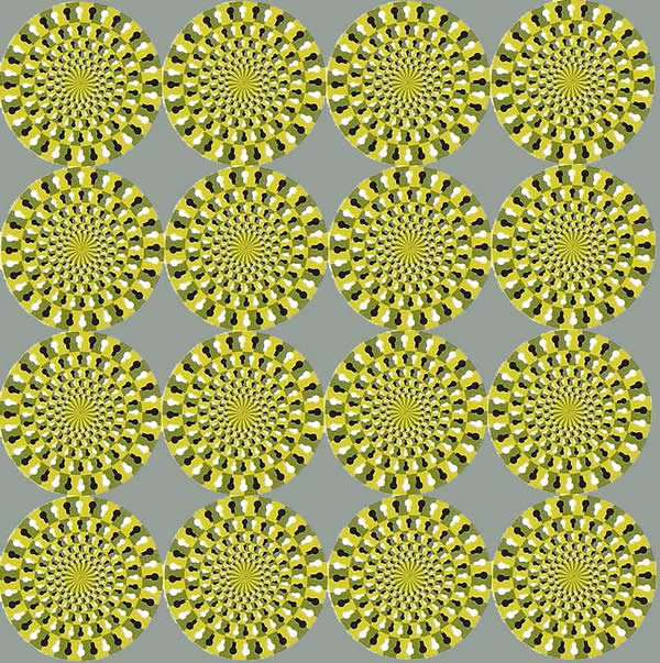 Spinning - Optical Illusion