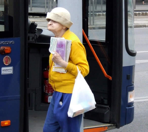 Funny Old Woman