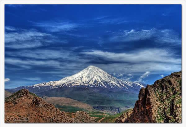 Damavand Peak/HDR