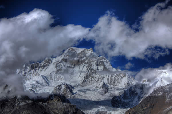 Everest from 4th Lake