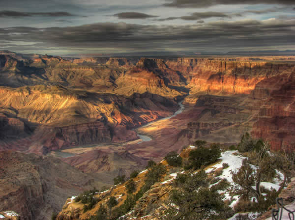 Desert View Wind Chill - Grand Canyon