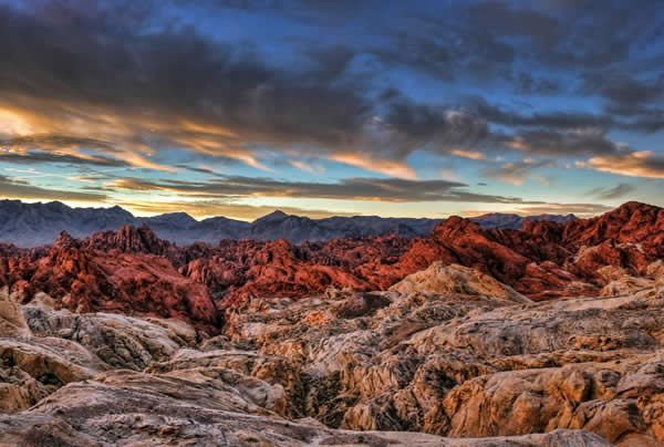 Fire Canyon Sunrise
