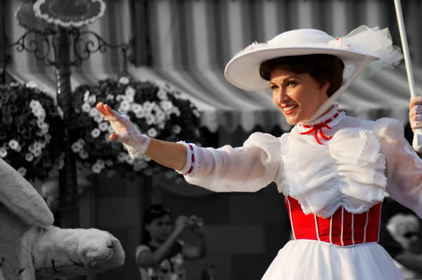 Mary Poppins Selective Coloring
