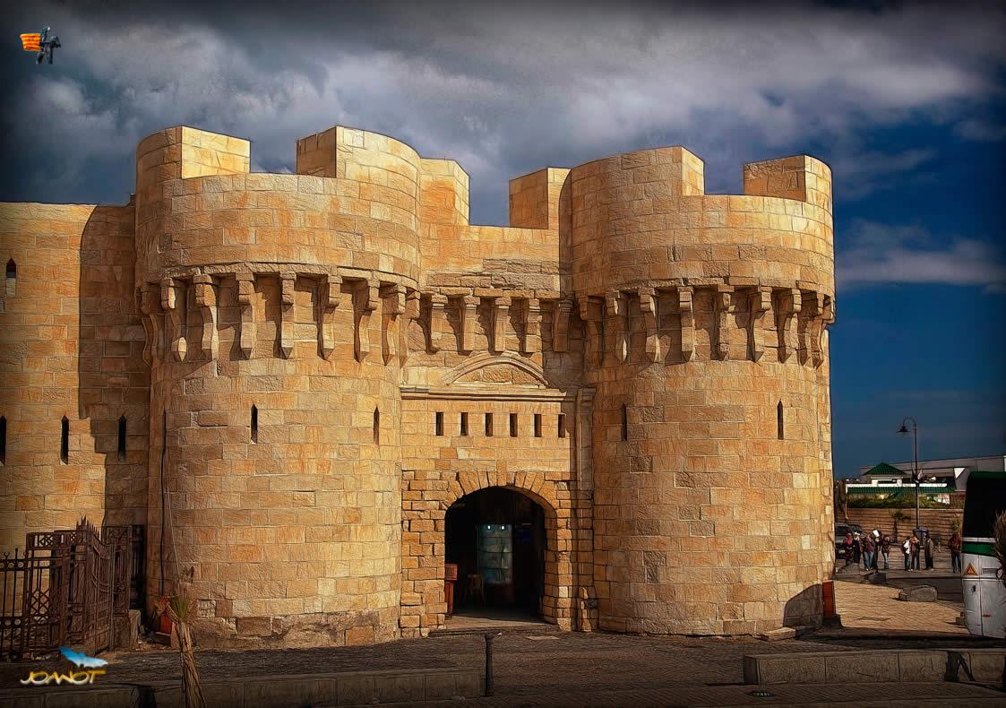 The Qaitbay Citadel (Alexandria) Egypt