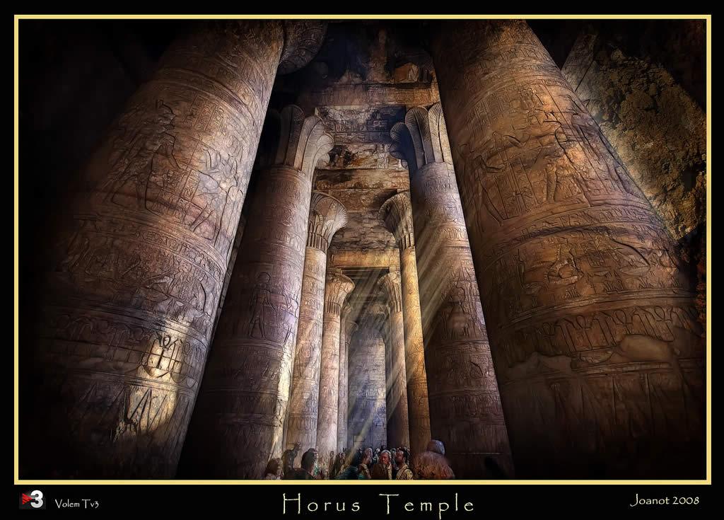 Horus temple (Edfu) Egypt