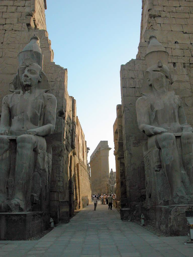 The Entrance Pylon of Luxor Temple
