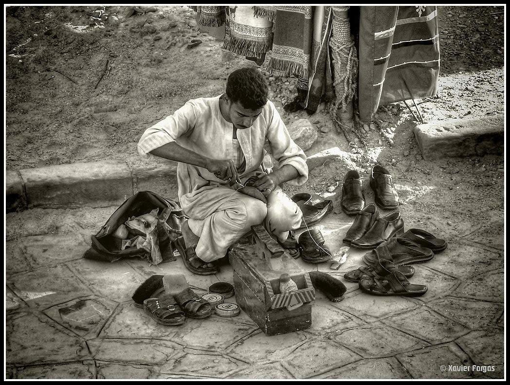 Egypt Scenes - Aswan, Street Works