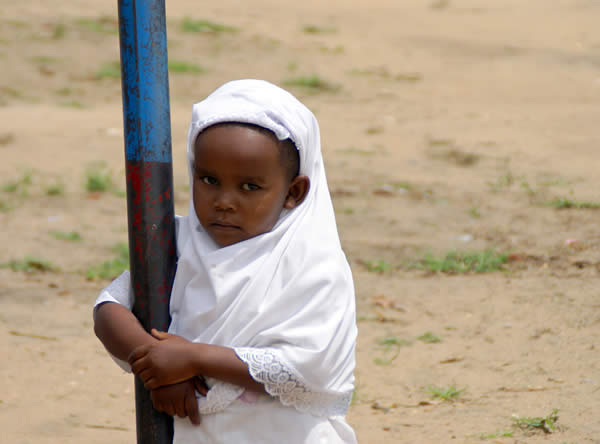 Muslim Child in Tanzania