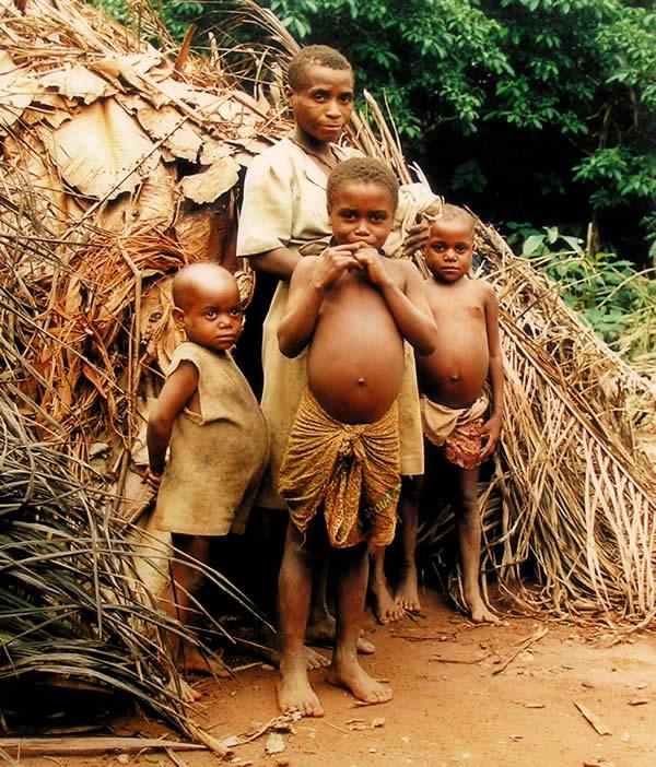 Last Baka Pygmee Tribe