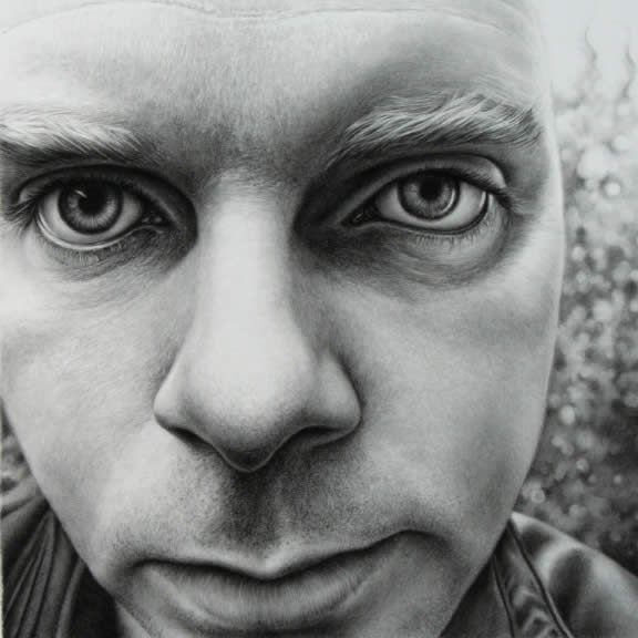 50 ultra realistic male portrait drawings