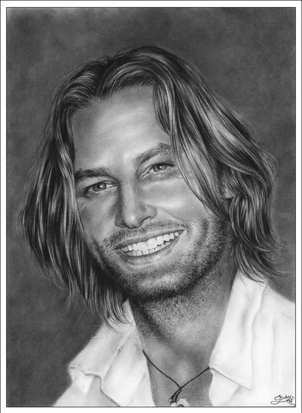 Josh Holloway Smiling