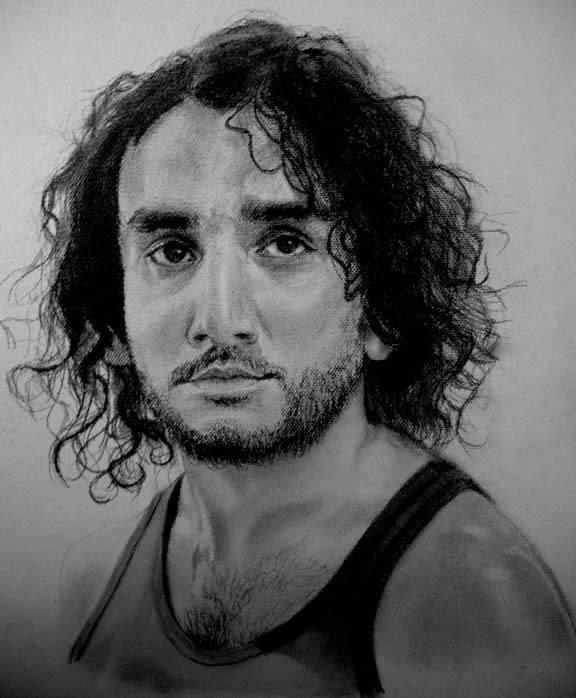Sayid Jarrah Portrait