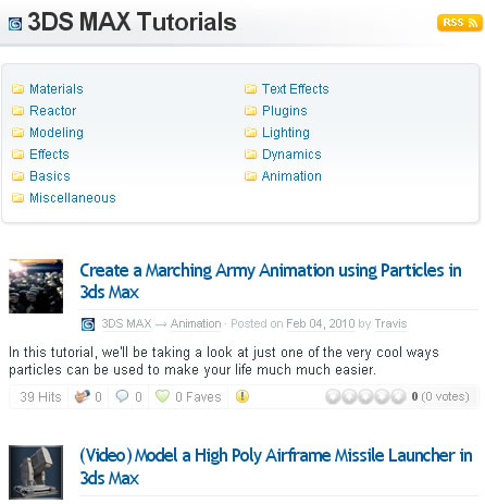 Tutorial Sphere 3DS Max Section