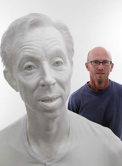 White Gerry (with artist)