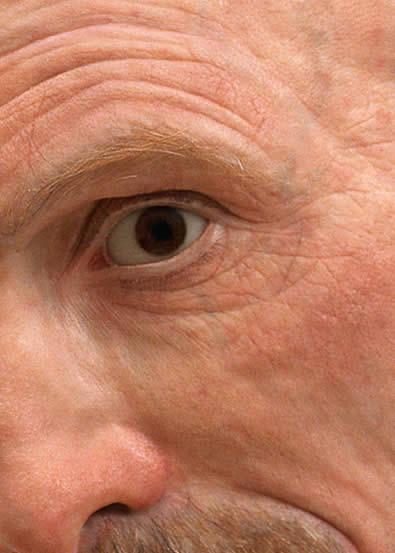 Self Portrait (detail eye)