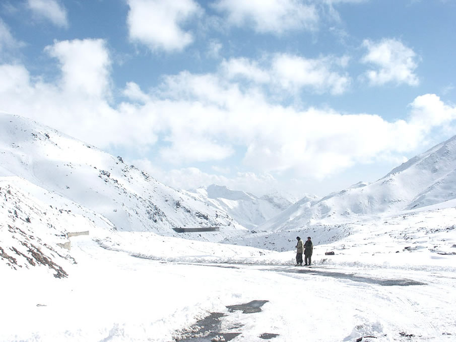 The Salang Pass in Afghanistan