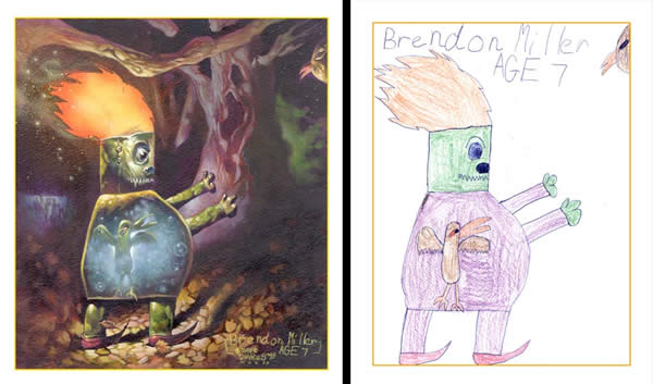 By Brendon Miller - age 7