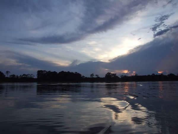 Dusk over Amazon