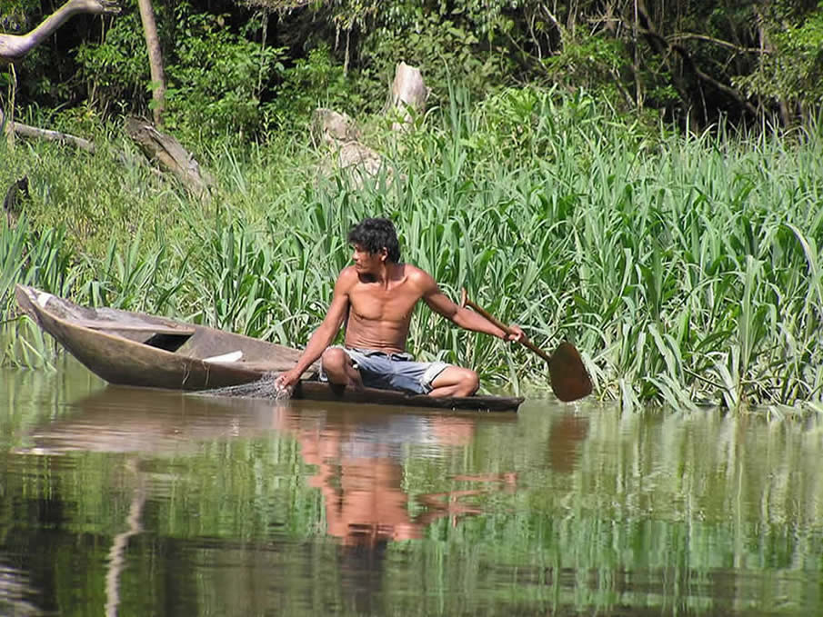 Man On The Amazon