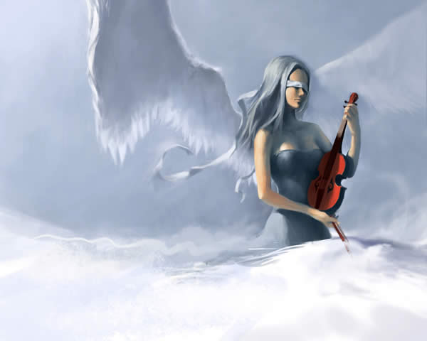 Violin Angel