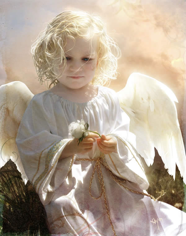 Annie as an Angel