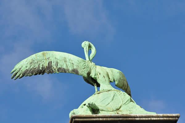Статуя, зоопарка Антверпена