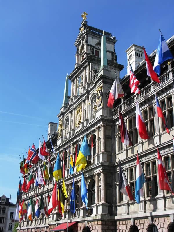 Городская ратуша, Антверпен