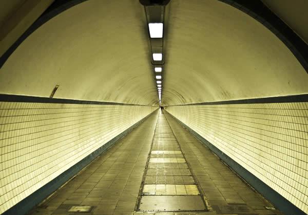 Святой Анны ног туннеля