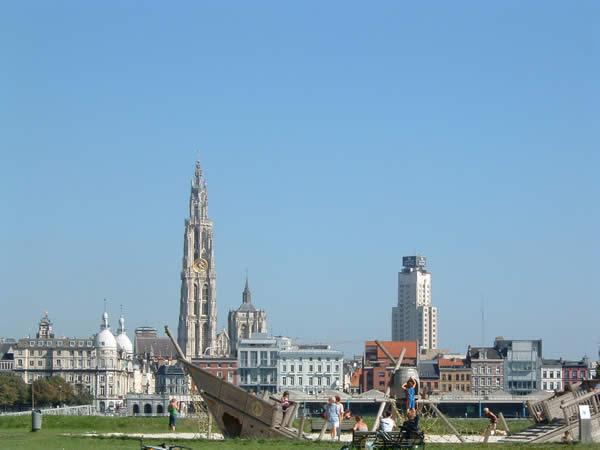 Вид из всей Schelde