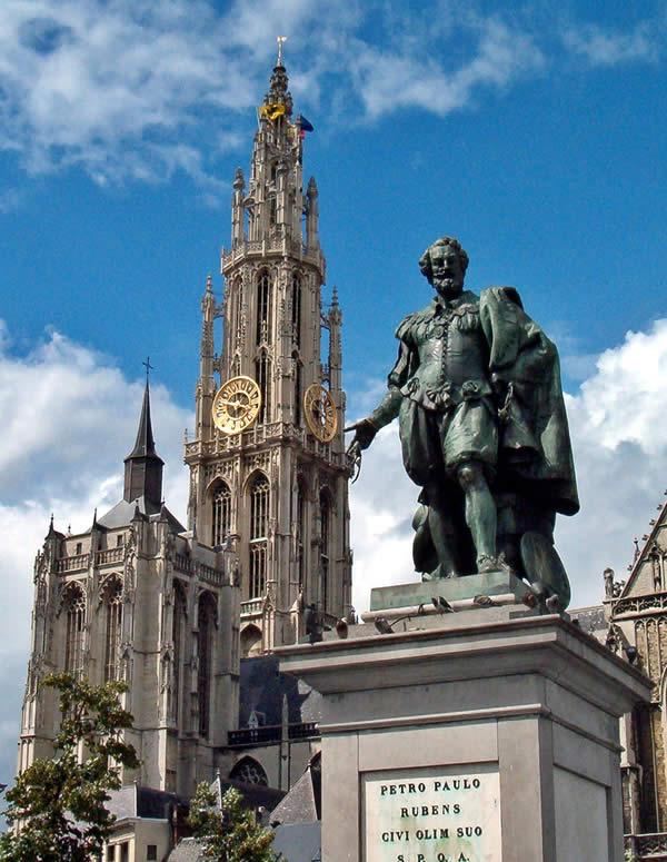 Рубенса в Антверпене
