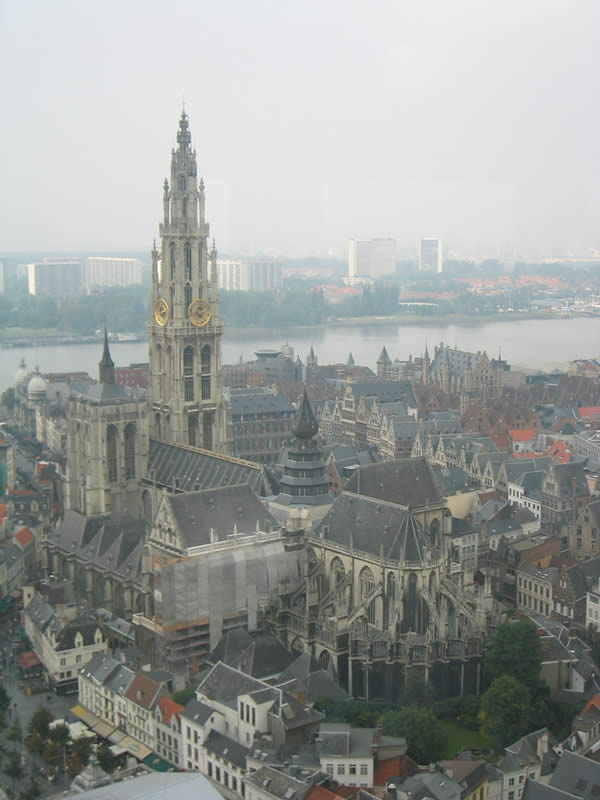 View from the Boerentoren: Cathedral